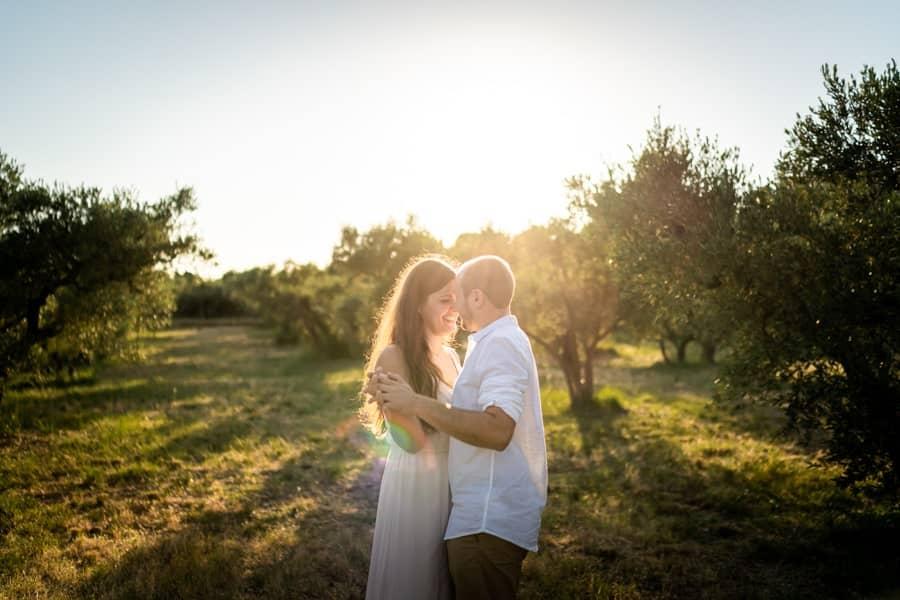 shooting photo couple Baux de Provence