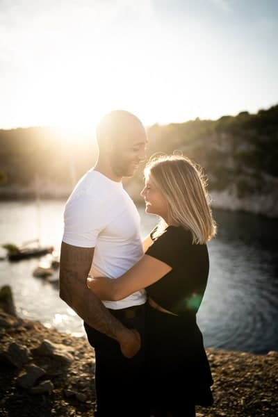 shooting photo couple Cassis
