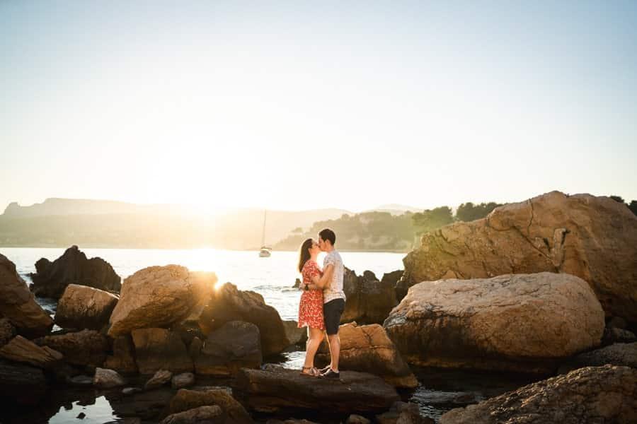 photographe couple Cassis