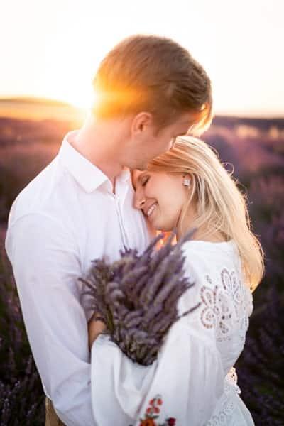 Photographe couple Valensole