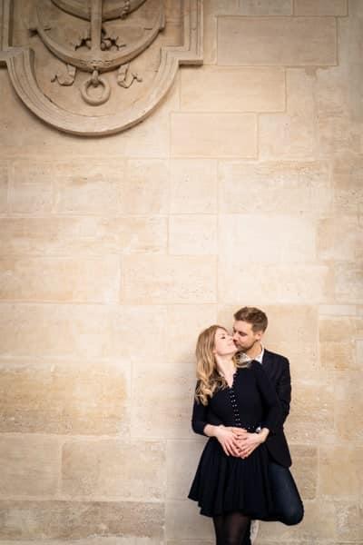 photos de couple amoureux à paris