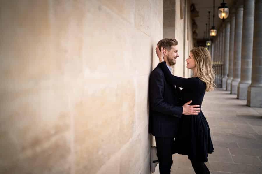 séance photo couple à Paris