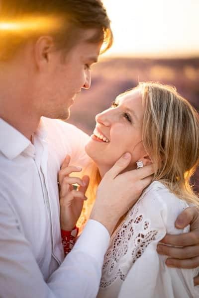 shooting photo couple lavandes valensole