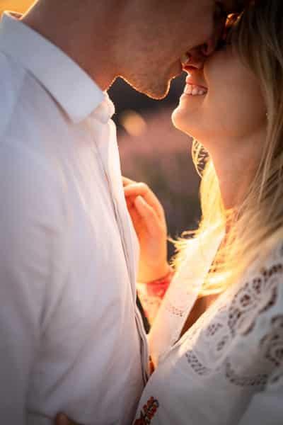 seance photo couple lavandes valensole provence