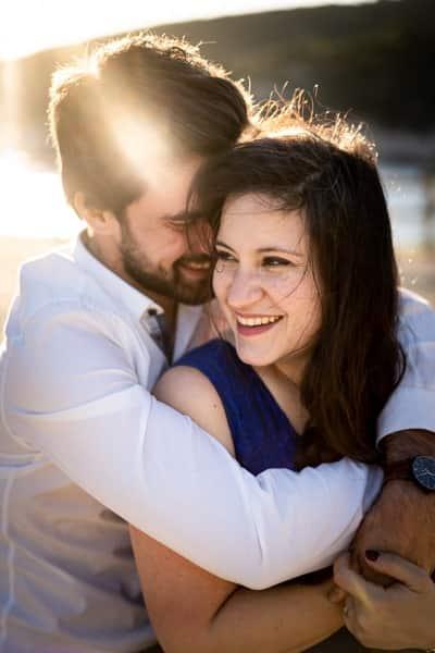 photo de couple à port miou
