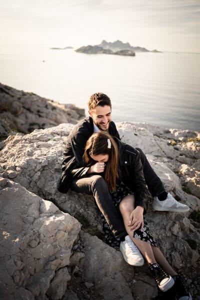 Photographe couple Aix en Provence