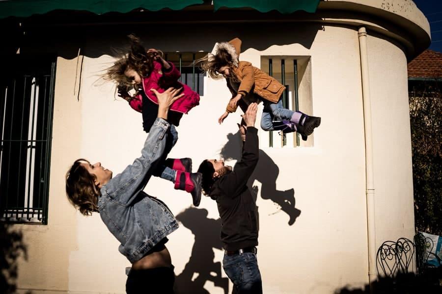 photos de famille dans le 12 eme à Marseille