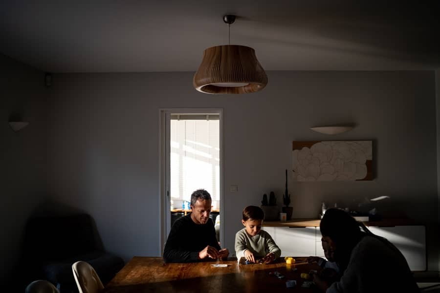 shooting photo de famille en exterieur